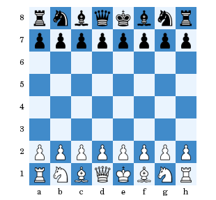 schach-aufstellung