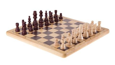 klassisches Schachbrett